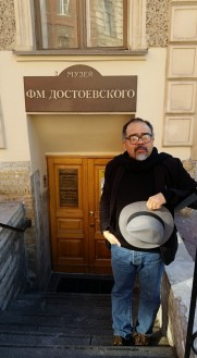 Curator of the 2016 Inaugural Dostoevsky Day UK (DDUK) / at the F.M.Dostoevsky Literary-Memorial Museum, the day when I decided to create our own Dostoevsky Day UK. Dr Vladimir Smith-Mesa, cataloguer of UCL SSEES Library's Russian and audio-visual collection. https://www.ucl.ac.uk/news/staff/staff-news/August/10082016-spotlightonVladimirSmithMesa