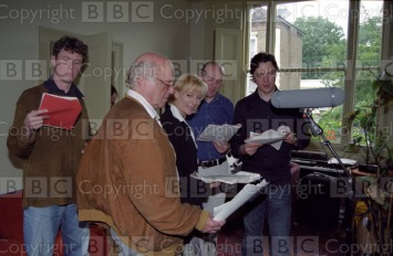 Radio 4 : The Idiot Transmission Date: 02/11/2002 Annotation: Picture shows David Swift as General Yepachin, Alex Jennings as Ganya, Lia Williams as Nataysa, unidenfied man and Paul Rhys as The Prince. A new four part dramatisation of Dostoevskys most personal and remarkable novel. Personalities: Swift, David; Jennings, Alex; Williams, Lia and Rhys, Paul Location: GB Photographer: English, Nikki Genre: Drama Ref Number: 1676004