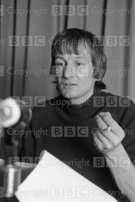Crime and Punishment (Radio 3) Transmission Date: 25/02/1975 Annotation: picture shows - Ronald Pickup as Rodian Raskolnikov. Personalities: Pickup, Ronald Location: GB Photographer: Green, John Genre: Drama Ref Number: 3343440