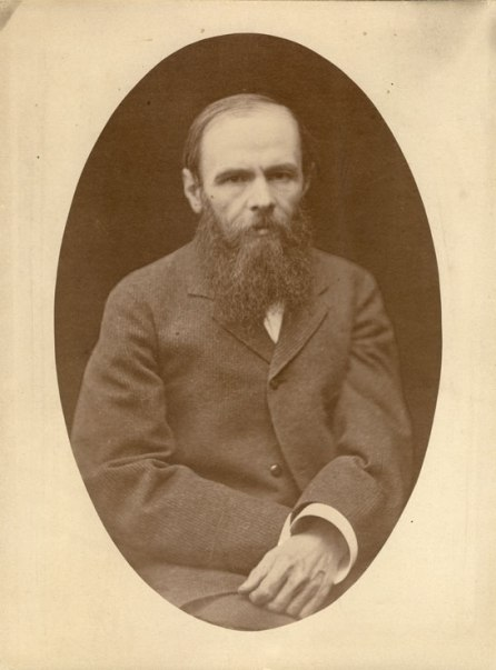 Fyodor Dostoevsky (1821-1881) Photo courtesy The F.M.Dostoevsky Literary-Memorial Museum